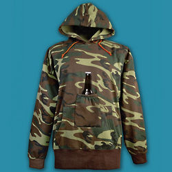 Camo Beer Pouch Hoodie