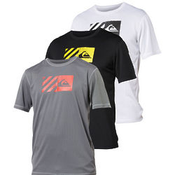 Men's Quiksilver Back Track Loose Fit Mesh Rashguard