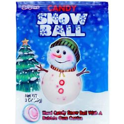 Snow Ball Jawbreaker Candies