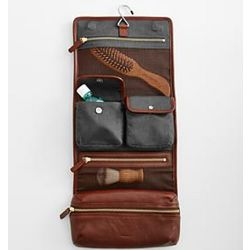 Personalizable Leather Travel Case
