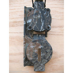 Camo Military Compass with Lanyard