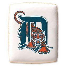 Detroit Tigers Shortbread Cookies