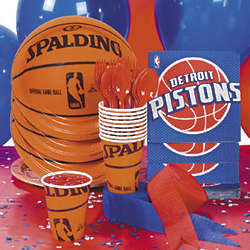 NBA Detroit Pistons™ Basic Party Pack