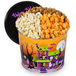 2 Gallons of Popcorn in Monster Munch Tin
