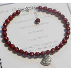 Pearls of Wisdom Teacher Bracelet