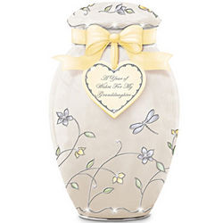 A Year of Wishes for My Granddaughter Personalized Ginger Jar