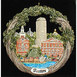 Boston AmeriScape Ornament