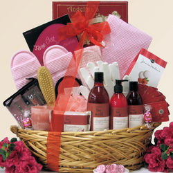 Be Well Pomegranate Spa Haven Mother's Day Gift Basket