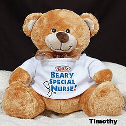 Bearly Special Nurse Plush Teddy Bear