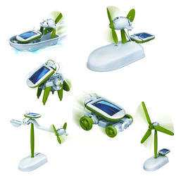 Powerplus Chameleon 6 in 1 Solar Toy Set