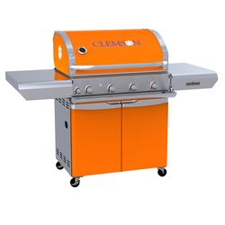 Clemson Tigers Team Grill Patio Series MVP Gas Grill