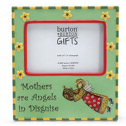 Mother's Day 'Mothers are Angels in Disquise' Picture Frame