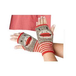 Sock Monkey Hand Warmers