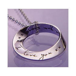 I Love You More Mobius Necklace