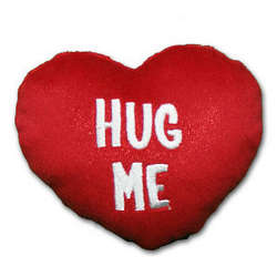 Hug Me Plush Heart