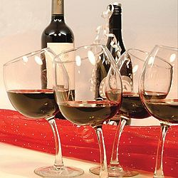 Tipsy Wine Glass Set