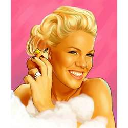 Pink Pop Art Print