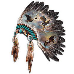 Soaring Spirits Eagle Art Wall Decor