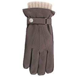 Leather and Cashmere Men's Gloves
