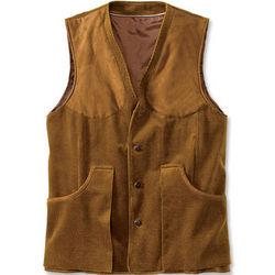 Corduroy Shooting Vest