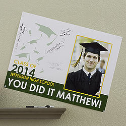 Graduation Party Personalized Photo 18x24 Signature Poster