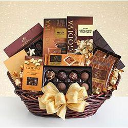 Grand Chocolate Gift Basket for Mom
