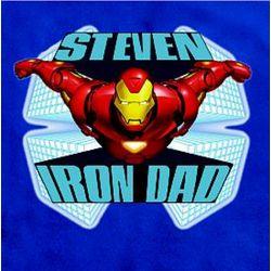Marvel Comics Personalized Iron Man T-Shirt