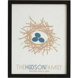 Family Nest Framed Art