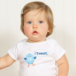 Twitter Get Connected Baby Bodysuit