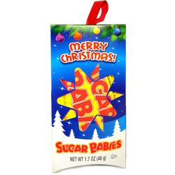 Marry Christmas Sugar Babies Candy Ornament