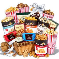 Popcorn Delights Gourmet Gift Basket
