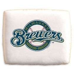 Milwaukee Brewers Shortbread Cookies