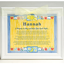 Personalized Promise Frame