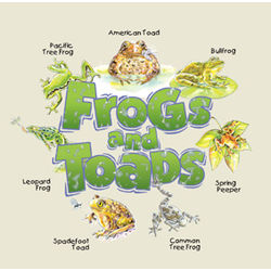 Frogs and Toads Kids T-Shirt in a Jar