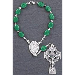 Shamrock One Decade Auto Rosary