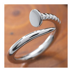 Sterling Nail Ring