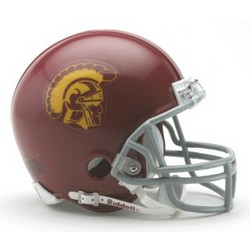 USC Trojans Replica Mini Helmet with Mask