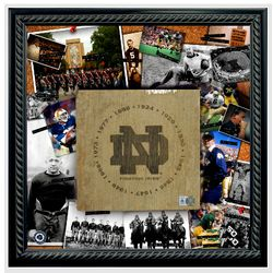 Notre Dame Fighting Irish - National Champion Years Bench Slab