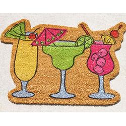 Cocktails Welcome Doormat