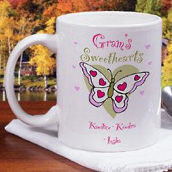 Butterfly Sweethearts Coffee Mug