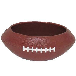 Ceramic Football Dog Bowl