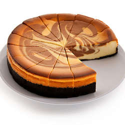 9 Inch Chocolate Swirl Cheesecake