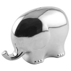 Engraved Elephant Coin Bank