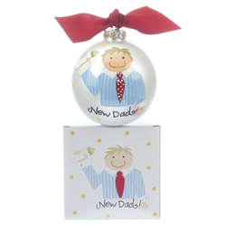 New Dad Christmas Ornament