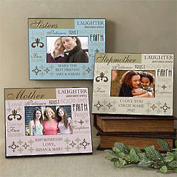 Personalized Her Best Qualities Picture Frame