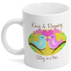 Sitting in a Tree Coffee Mug