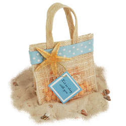 Mini Jute Potpourri Bag