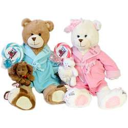 Get Well Soon Plush Bear with Whirly Pop