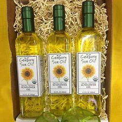 Large Organic Sunflower Oil Gift Box