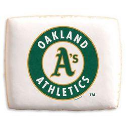 Oakland As Shortbread Cookies